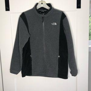 The North Face Denali Fleece Size XL Grey Black